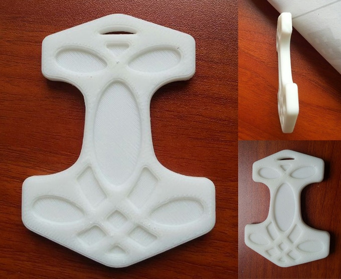 Thor's Hammer Prototype (finish of final product will be silk matte)
