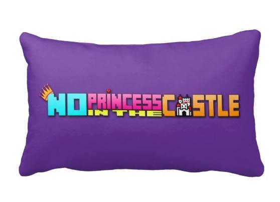 Reward #7 No Princess In The Castle Throw Pillow