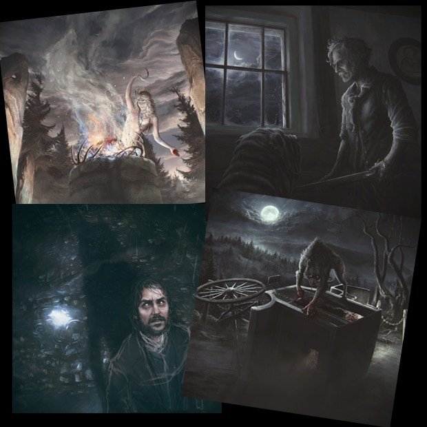 Art for the Role cards
