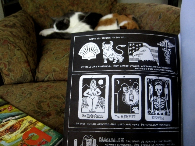 sample page, SYMBOLOGY (Annie Murphy and Grimoire Press, 2014)