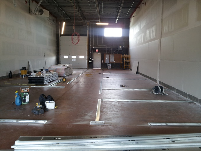 We've come a long way!  Check out the news posts on our website for more progress photos.