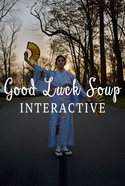 Good Luck Soup Interactive Poster