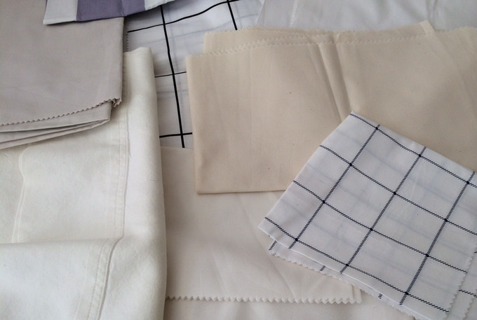 Fabric Samples from Factories Around the World