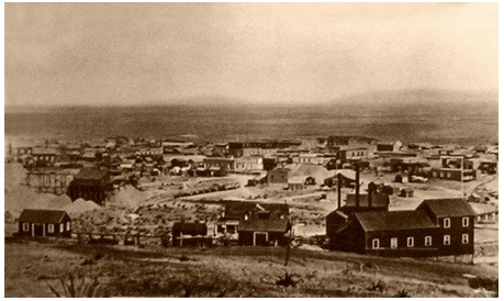 Tombstone, AZ in 1881.