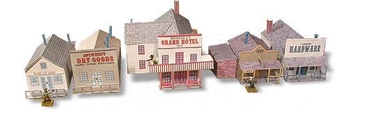 Whitewash City Model Set #2