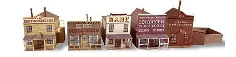 Whitewash City Model Set #3