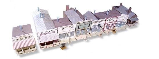 Whitewash City Model Set #5