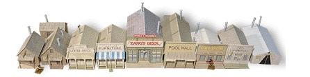 Whitewash City Model Set #7