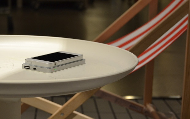 Charge with QiPack while you relax