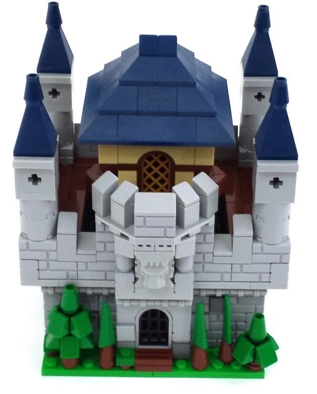 David Frank's micro castle build.