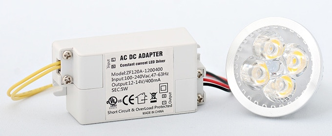 Non-Dimming Driver and LED Bulb