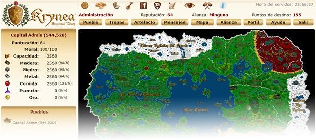 Screenshot from Krynea Imperial Wars