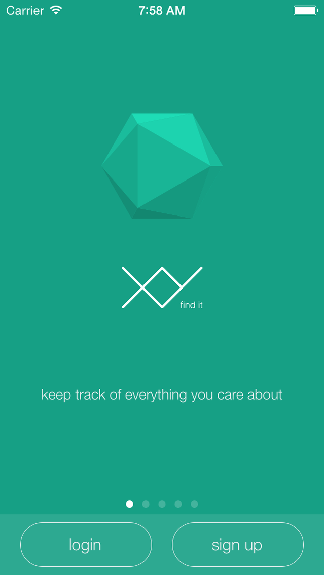 XY - The secure iOS/Android Bluetooth tracking tag by XY