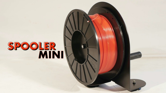 Spooler Mini A 3d Printing Material Winding Solution By