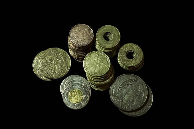 Elemental Currency set (60 coins)