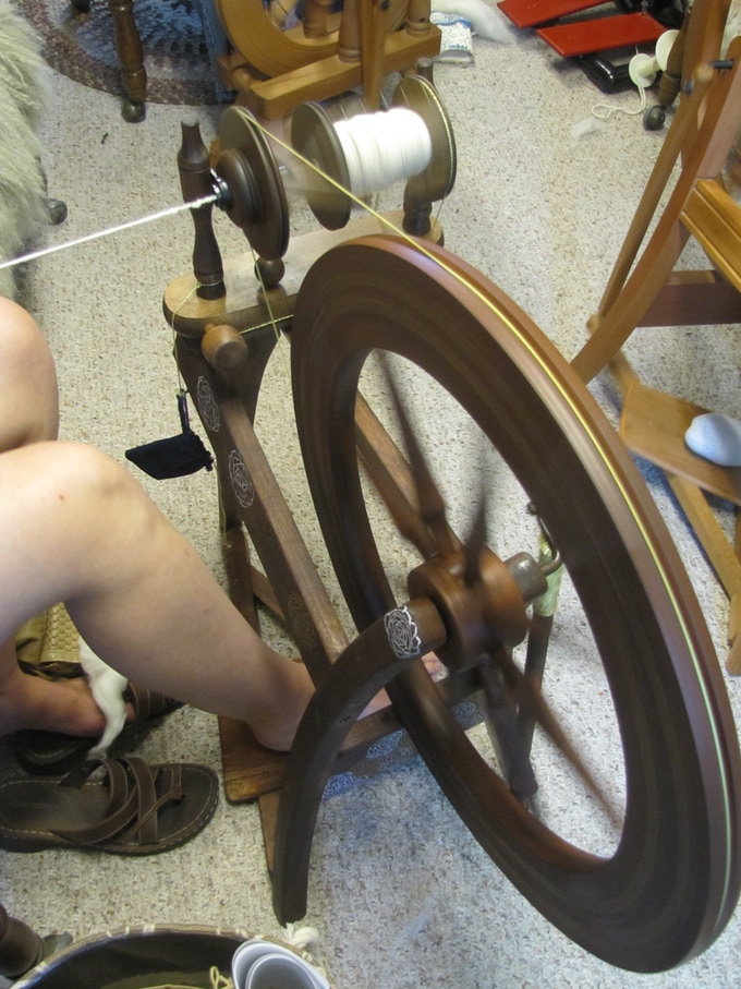 Ancient arts thrive here.... spinning, weaving, knitting, crochet, felting, and more.