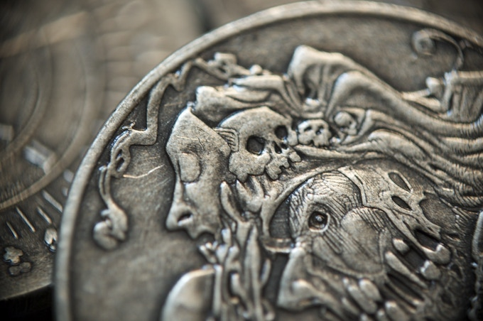 Detail of the Wraith, 10 Denomination