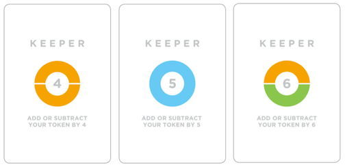Example Keeper Cards