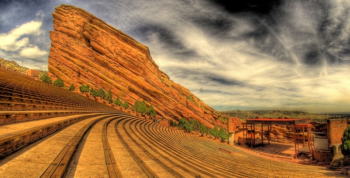 The Red Rocks Amphitheater