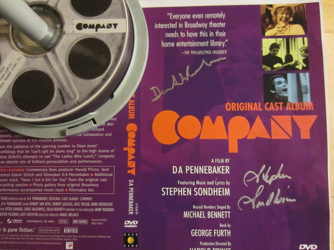 "Limited Edition copy of ""Company,"" signed by Stephen Sondheim and Penny"