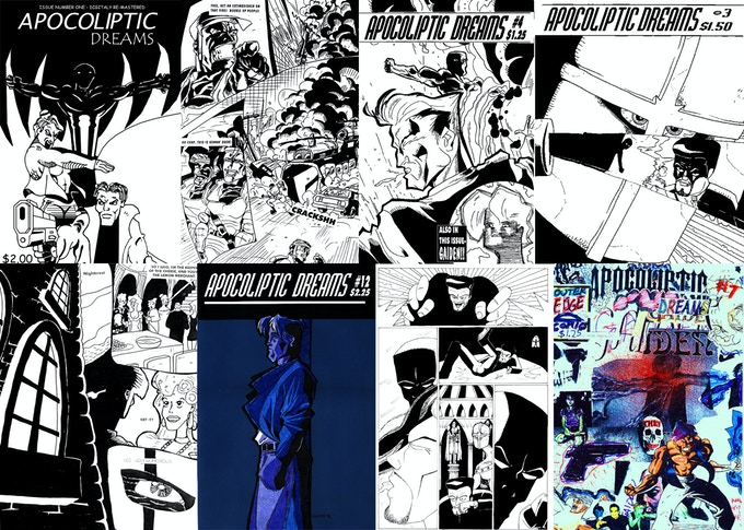 Some original covers and artwork from the original mid-90s 12 issue run.