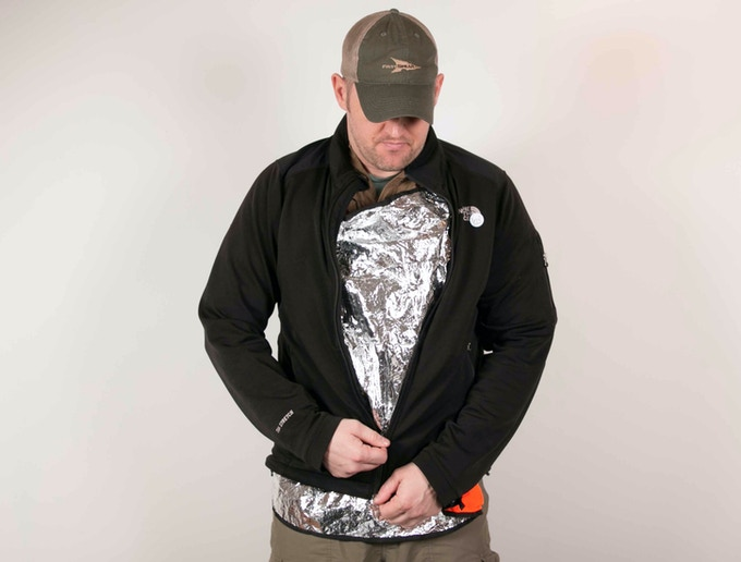 Wearing the SSR Panel as a heat shield.  Covering with shirt or fleece while on the move will help trap heat.