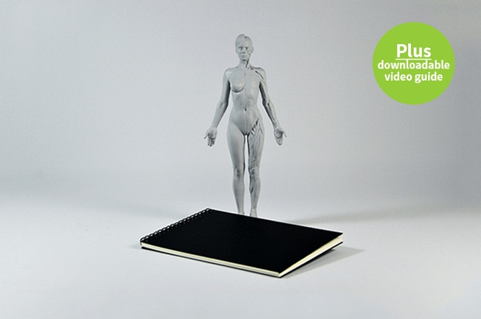 Treat yourself: 1 female figure plus an A5 sketchbook!