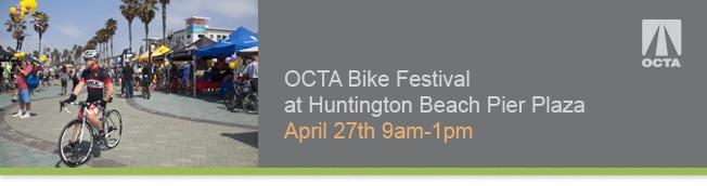 See us at the OTCA Bike Festival, Sunday, April 27th.
