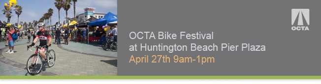 See us at the OTCA Bike Festival, Sunday, April 27th.