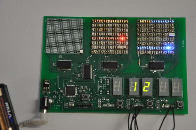 Prototype Circuit For Controlling the Game