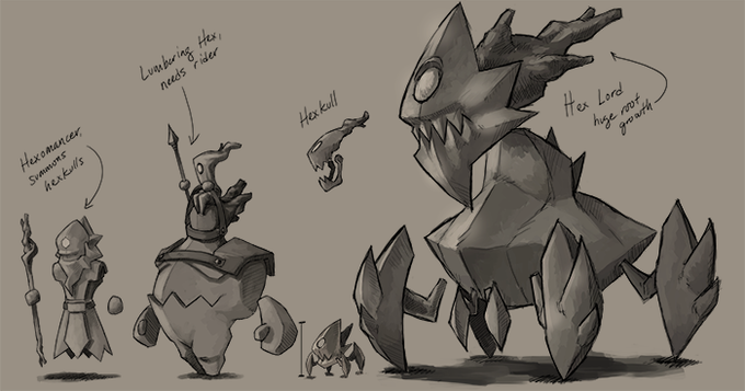 Big monster concepts