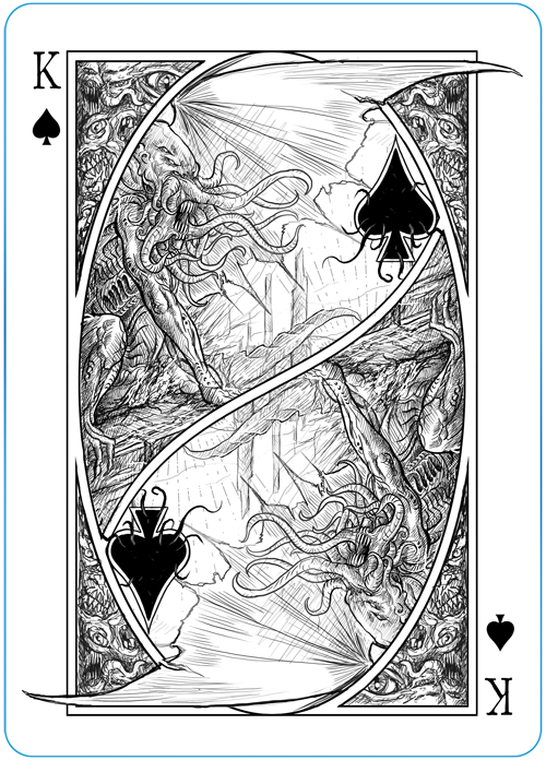 The Writhing Dark - King of Spades