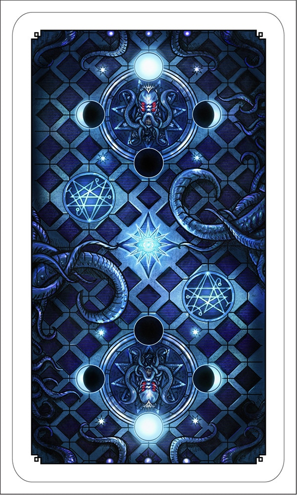 The Writhing Dark Tarot - Card Back