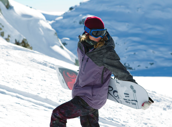 Marie-France Roy's 2014 Signature Oakley Outerwear, the Quebec Jacket and Pants in Medium