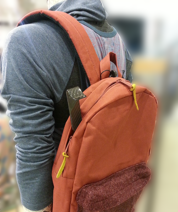 Check out that sweet backpackin' 5BerScratcher!