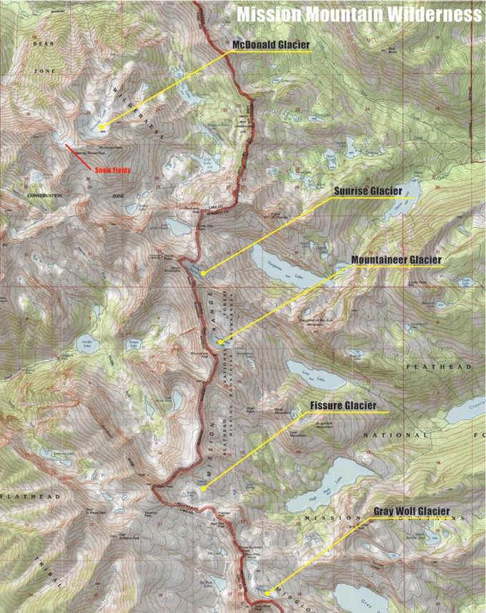 Mission Mountain Wilderness