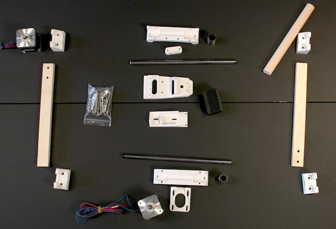 this picture only shows a few of the parts of the Mr Beam kit