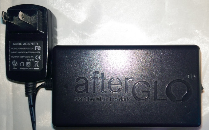 Finished production ready afterGLO power pack