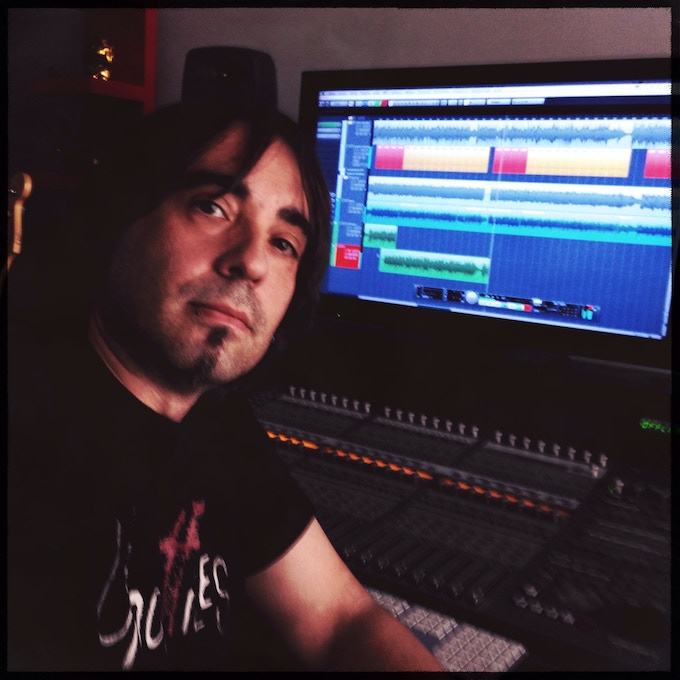 Vicen Miras working on AVGhost OST.