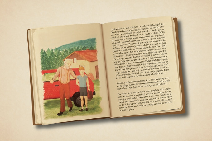 Fully illustrated hard-cover book based on film's original story.