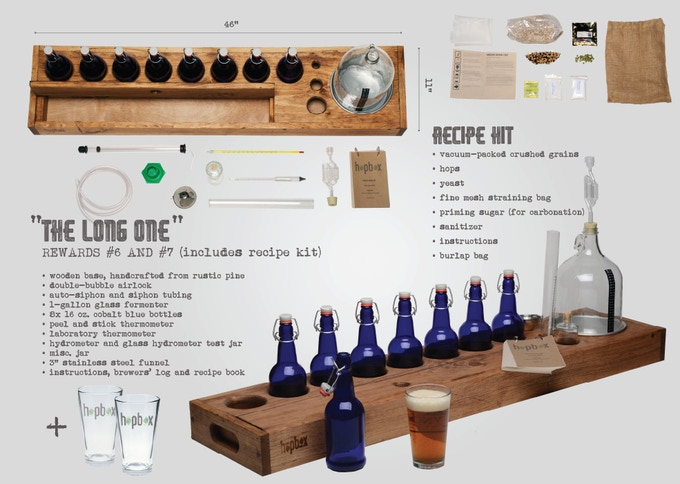 HopBox Handcrafted Brewing Kits by Michael Langone — Kickstarter