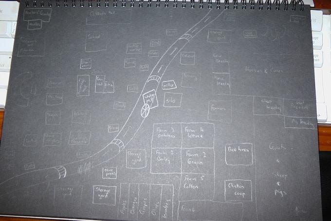 Map of Rilla's Paradise
