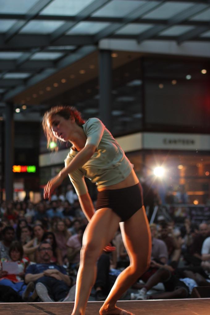 EEFF 2013 - Live dance performance @Spitalfields Market