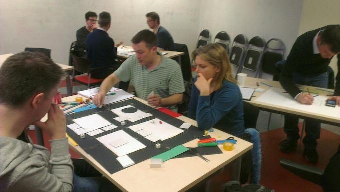 A James Wallis design workshop in progress