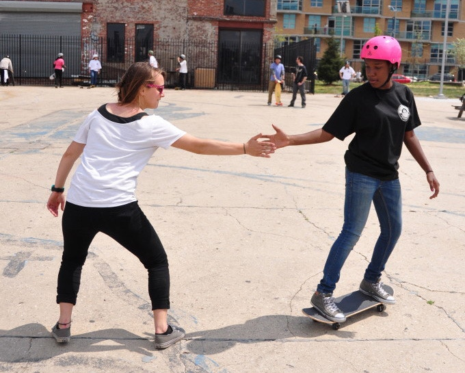 STOKED is a NYC based action sports mentoring program.