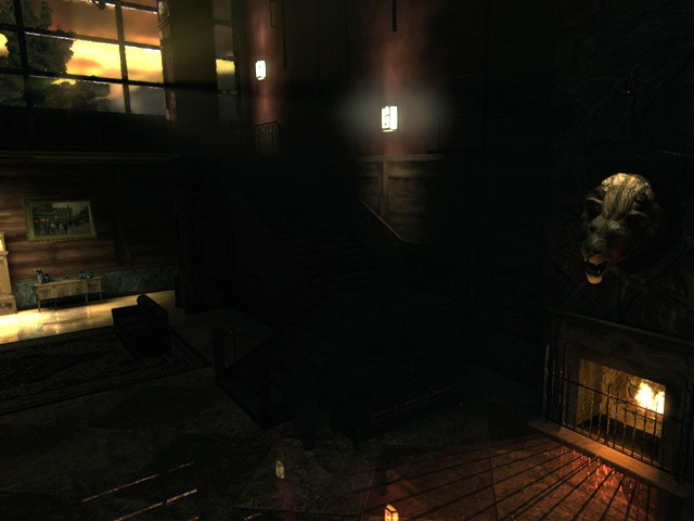 Lakehouse has a cozy fireplace (UDK)