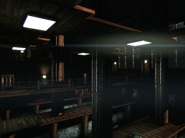The Dock area in Lakehouse can be drained by the Spies to open up new paths (UDK)