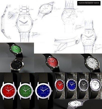 The Progression of Watches