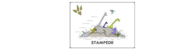 Stampede Event Card