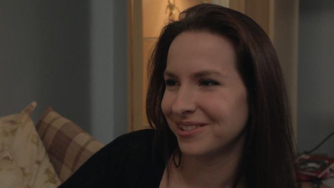 Actress Jessica Zwolak